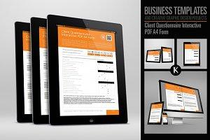 Client Questionnaire Interactive PDF