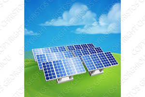 Solar Energy Power Renewable Farm Cells