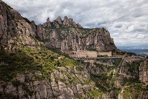 Montserrat Mountain and Monastery