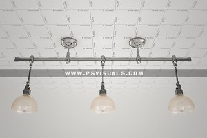 Triple Ceiling Light