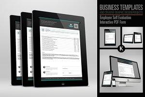 Employee Self Evaluation Interactive