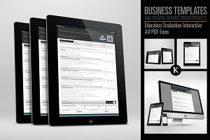 Educators Evaluation Interactive PDF