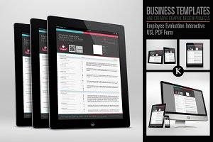 Employee Evaluation Interactive PDF