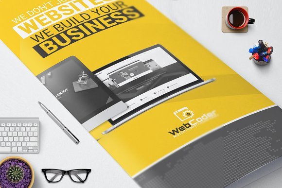 Web Design Development Brochure
