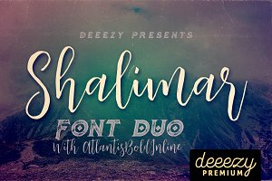 Shalimar Font Duo