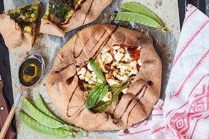 Vegetarian Crostata or Galette