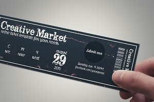 Multipurpose retro ticket 03