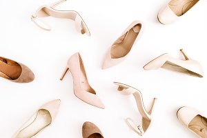 High-heels pattern