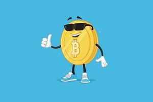 Bitcoin Mascot