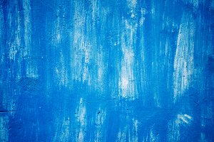 background and texture. Blue colour. paint on the wall.
