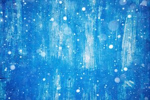 wall in paint. background and texture. wallpaper. snow and blue color