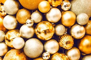 New Year balls for festive mood. new Year.