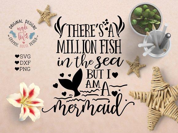 I am a mermaid Cutting File