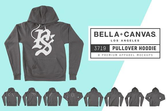 Bella Canvas 3719 Pullover Hoodie