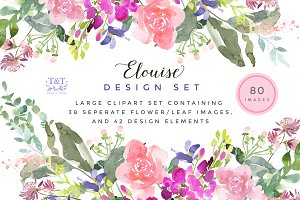 Elouise - Large Clipart Set