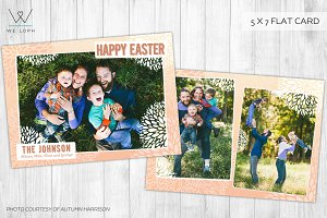 Happy Easter Family Card