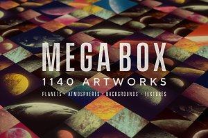 Mega Box | 1140 Textures