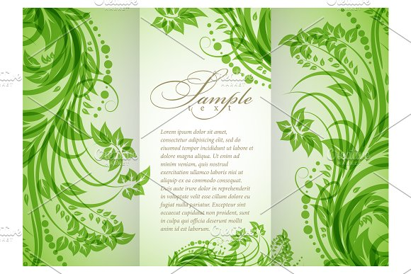 Abstract floral background in Illustrations