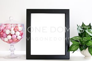 Frame Styled Desk Photo - Feminine