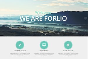 Forlio - Corporate Joomla Template