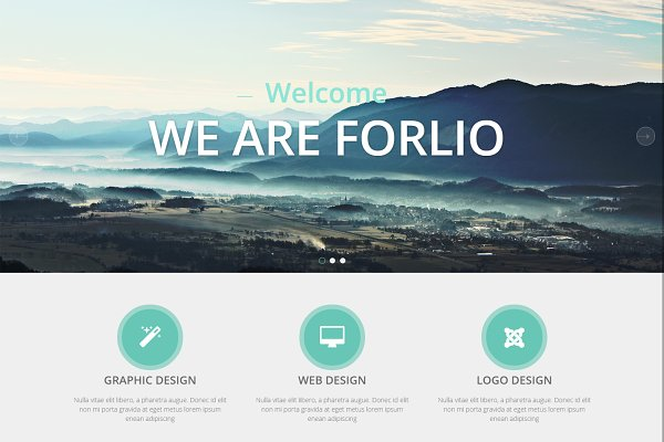 Joomla Themes: JoomlaUX - Forlio - Corporate Joomla Template
