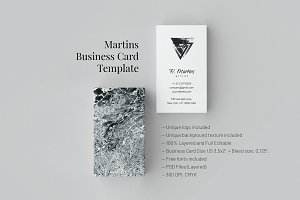 Martins. Business Card Templates