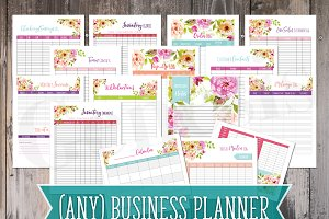 Business Planner - Instant Download