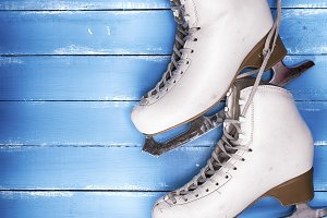 leather skates for figure skating
