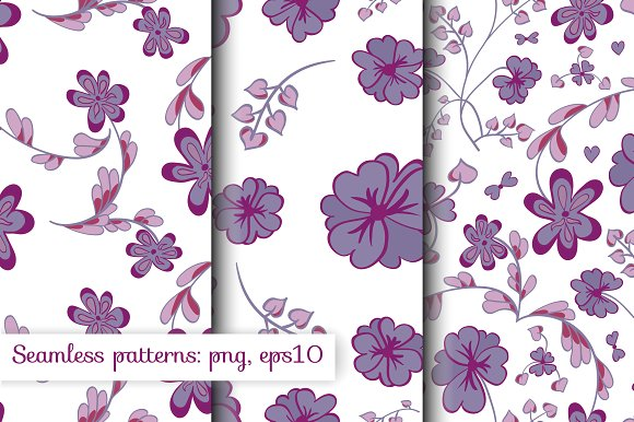Violet pre-collection in Patterns - product preview 3