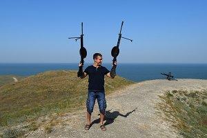 Man with a gun hoax