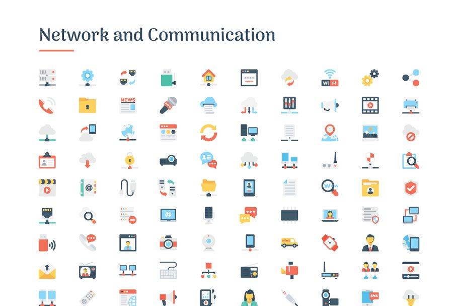 6150 Flat Icons Bundle in Flat Icons - product preview 7
