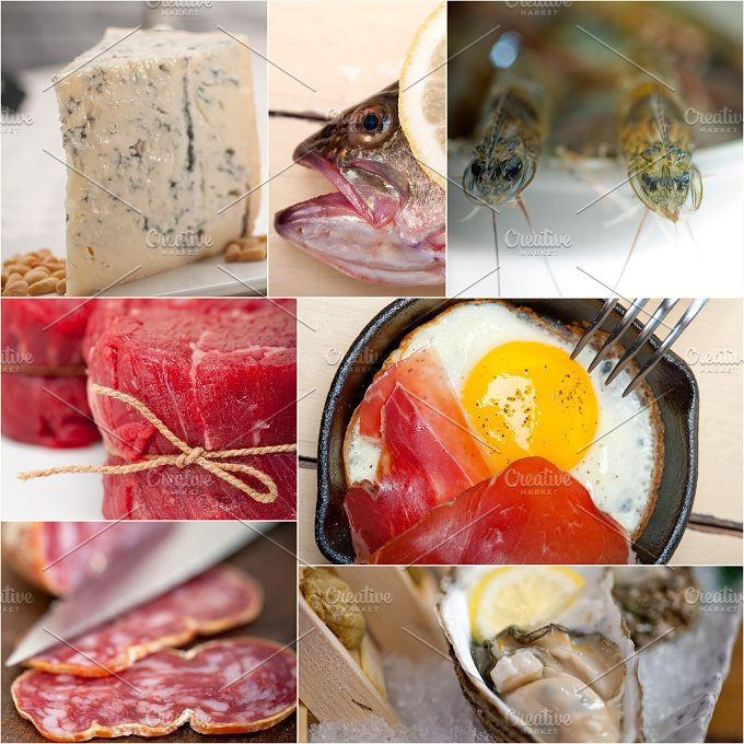 high protein diet collage 13.jpg - Food & Drink