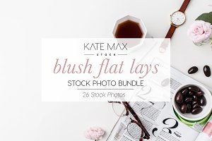 Blush Lifestyle Stock Photo Bundle