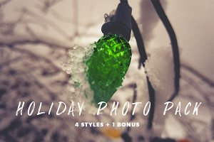 Holiday Photo Pack