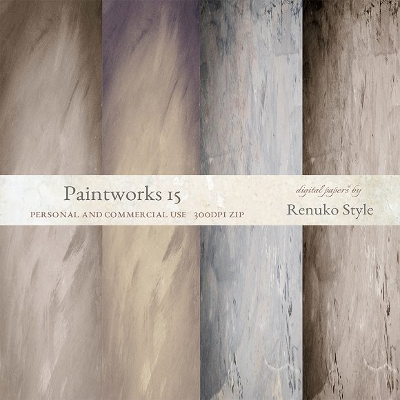 Paintworks 15 Photoshop Overlays