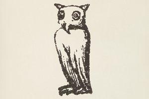 Owl icon (PSD)