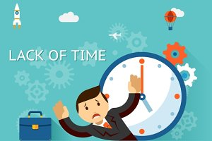 Time management. Lack of time