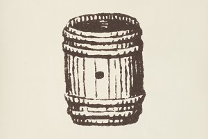 Barrel icon (PSD)