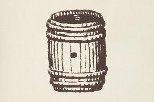 Barrel icon (PSD)