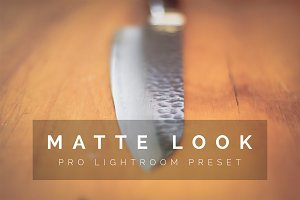 Matte Look Pro Lightroom Preset