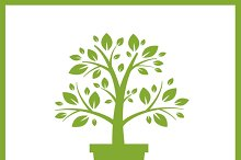 Home garden logo
