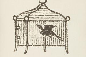 Bird cage icon (PSD)