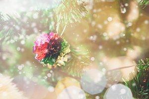 Close up Merry Christmas.