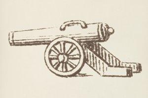 Cannon icon (PSD)