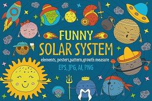 funny solar system