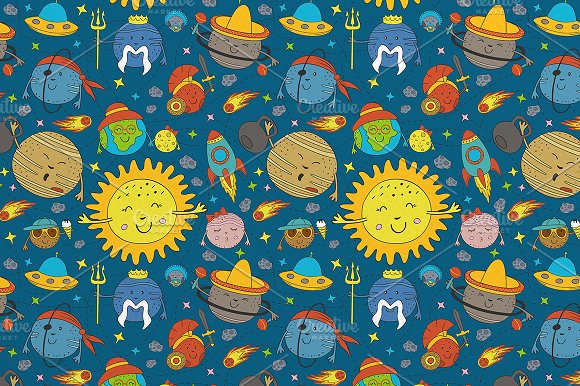 funny solar system in Graphics - product preview 3