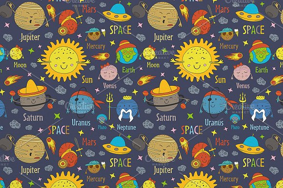 funny solar system in Graphics - product preview 4