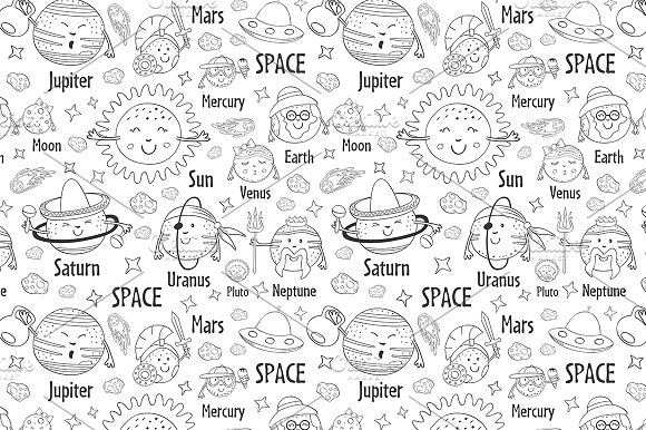 funny solar system in Graphics - product preview 5