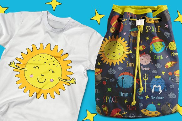 funny solar system in Graphics - product preview 10