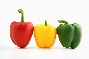 Bell pepper is a group of many color